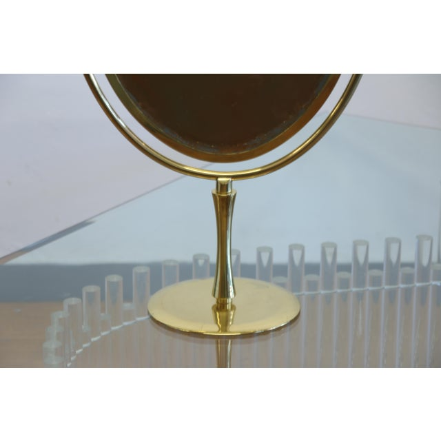 Wishbone Vanity Mirror by Charles Hollis Jones For Sale - Image 9 of 12