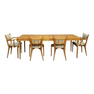 1960s Vintage Edmund Spence Mid-Century Modern Dining Set - 5 Pieces For Sale