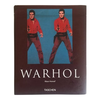 """"""" Warhol"""" Klaus Honnef Taschen 2007 Hardcover Monograph Art Book"""