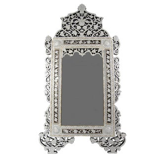 Syrian Mother of Pearl Mirror For Sale