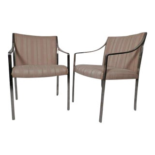 Stow Davis Arm Chairs - a Pair For Sale