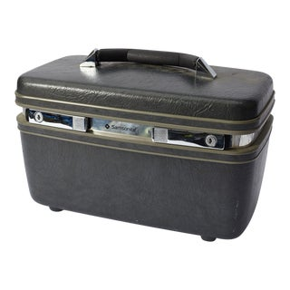 Samsonite Vintage Makeup Train Travel Luggage