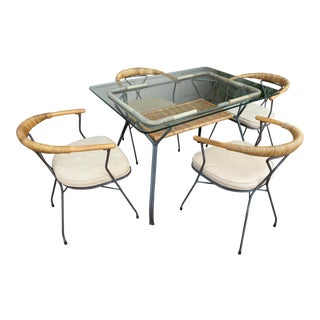 Mid-Century Salterini Dining Set - 5 Pieces For Sale