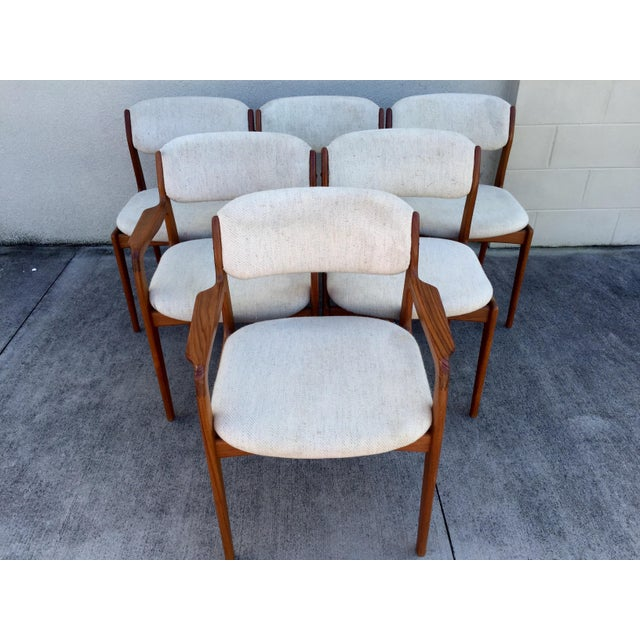 Mid-Century Benny Linden Dining Chairs - 6 For Sale - Image 7 of 10