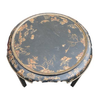 1920s Vintage Georgian Style Japanned Low Table Preview