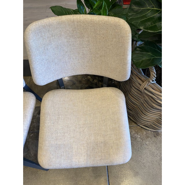 Beige Italian Dining Chairs - Set of 4 For Sale - Image 8 of 9