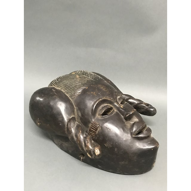 African art, tribal art, ibibio mask from nigeria Ages: mid 20th century Materials: wood, pigment, Country: nigeria...