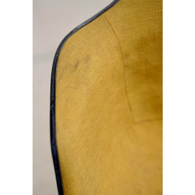 Mid-Century Modern Mid Century Early Herman Miller Pac-1 Upholstered Swivel Chairs- a Pair For Sale - Image 3 of 13
