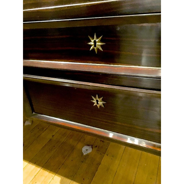 Jacques Adnet rarest 40s documented makassar desk.