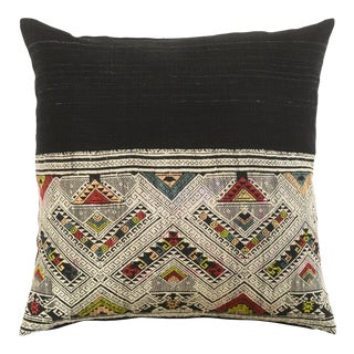 Boho Chic Far Away Hills Pillow For Sale