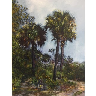 "Blair Oil Painting ""Wekiva Springs State Park"" For Sale"