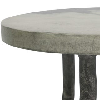 Faux Bois Marbled Gray-Toned Accent Tables - Set of 2 Preview
