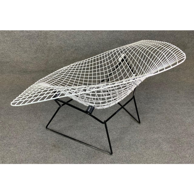 Vintage Mid Century Modern Large Diamond Chair by Harry Bertoia for Knoll For Sale - Image 9 of 11
