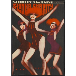"Polish ""Sweet Charity"" Bob Fosse Film Poster For Sale"
