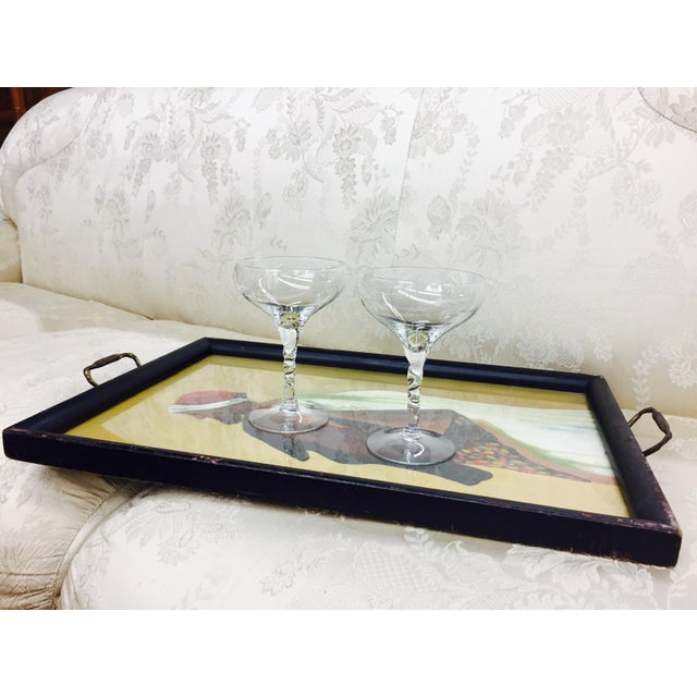 Antique Tray with Portrait - Image 10 of 11