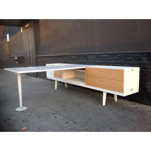 Vitra Level 34 Modular Office Desk - Image 6 of 9
