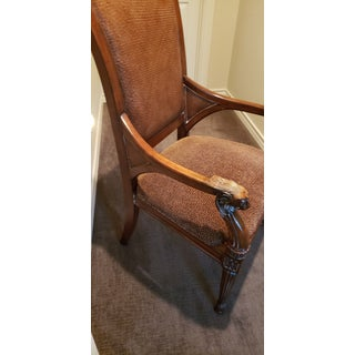 1990s Vintage Thomasville Leopard Print Arm Chair Preview