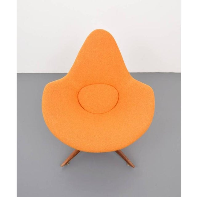 Mid-Century Modern Lounge Chair by Adrian Pearsall, 1960s Usa For Sale - Image 3 of 4