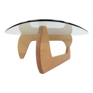 Contemporary Modern Naguchi Style Sculptural Coffee Table For Sale