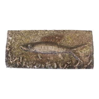1954 Mid-Century Fish Tile by Jerry Pearson For Sale