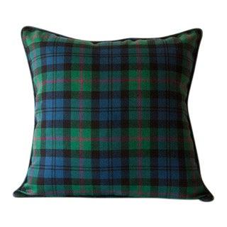 Baird Ancient Tartan Pillow For Sale