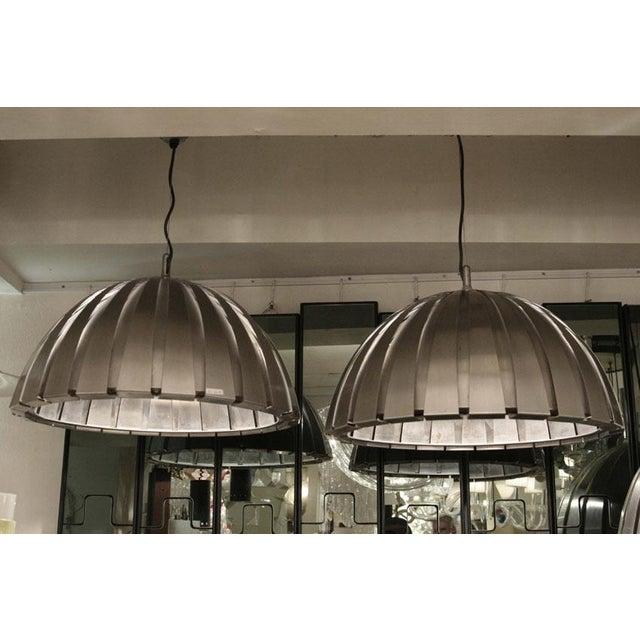 Italian Elio Martinelli Suspension Lights - Set of 3 For Sale - Image 3 of 6