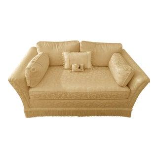 Damask Custom Upholstered Loveseat