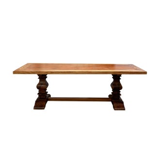 Cottage Chic Teak Dining Table
