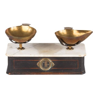 Late 19th Century Napoleon III Herbalist Scale For Sale
