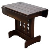 Image of Old Hickory Rustic Drop Leaf Side Table For Sale