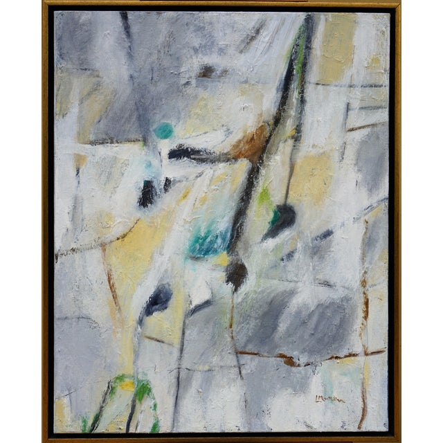 """Rural Route"" Laurie MacMillan Abstract Painting For Sale"
