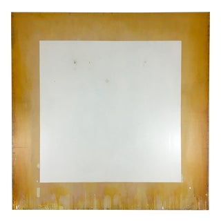 1990 Untitled White Painting by Ford Beckman For Sale