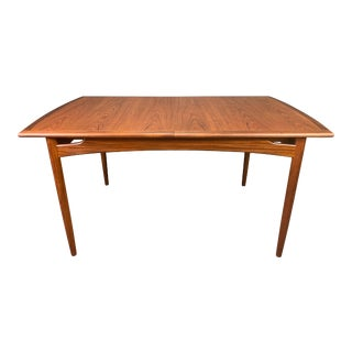 Vintage Mid Century Modern Teak Dining Table by G Plan For Sale