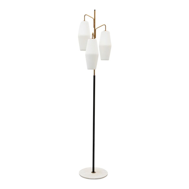 Elegant Floor Lamp by Stilnovo, Italy, 1960s For Sale
