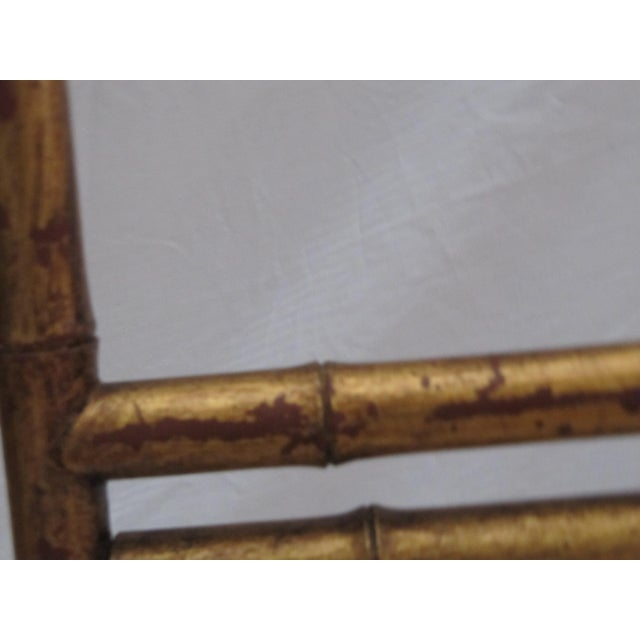Transitional Large Florentine Style Bamboo Easel - Image 8 of 10