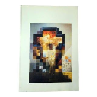 "Salvador Dalí ""Lincoln in Dalivision"" Collotype-Continious Tone (No Dots) Lithographic Print For Sale"