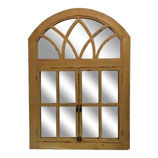 Curved Top Window Mirror For Sale