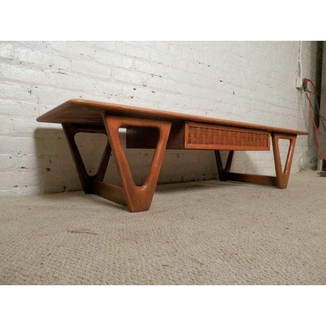 Lane Mid-Century Modern Coffee Table - Image 2 of 5