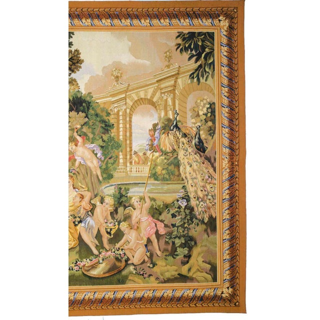 """Le Printemps From the Series """"Les Enfants Jardiniers"""" Tapestry For Sale - Image 4 of 6"""