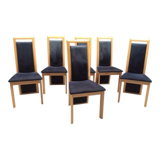 Vintage Italian Modern Dining Chairs - Set of 6