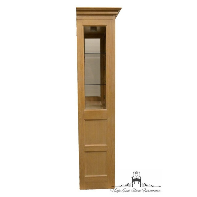 Stanley Furniture Country French Blonde Display China Cabinet For Sale - Image 11 of 13
