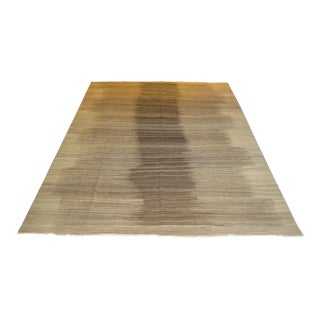 Beige Ombre Kilim - 9′9″ × 12′10″ For Sale