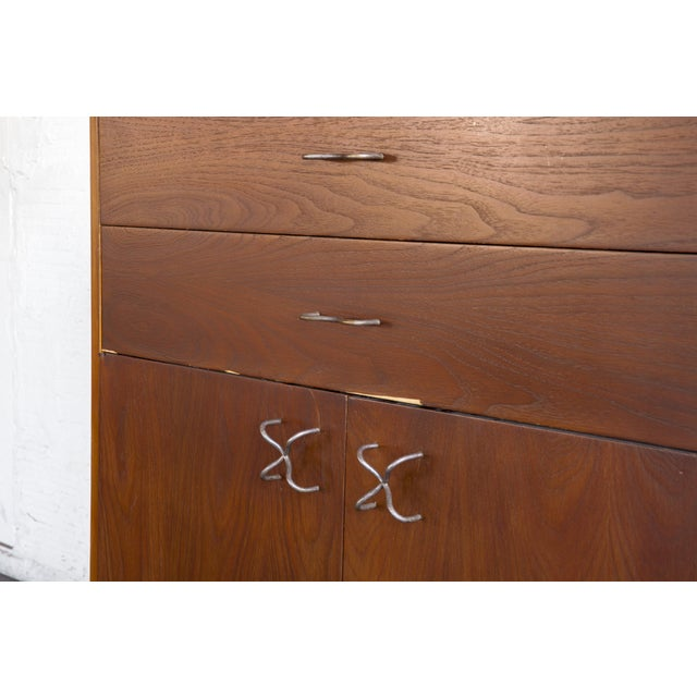1970s Mid-Century Modern George Nelson for Herman Miller Credenza For Sale - Image 11 of 13