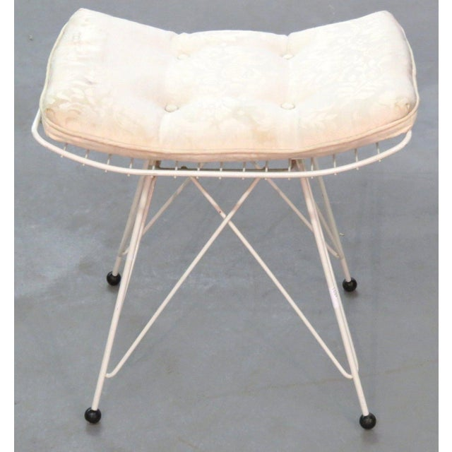 Knoll Iron Eiffel Tower Base Stool For Sale In Miami - Image 6 of 6