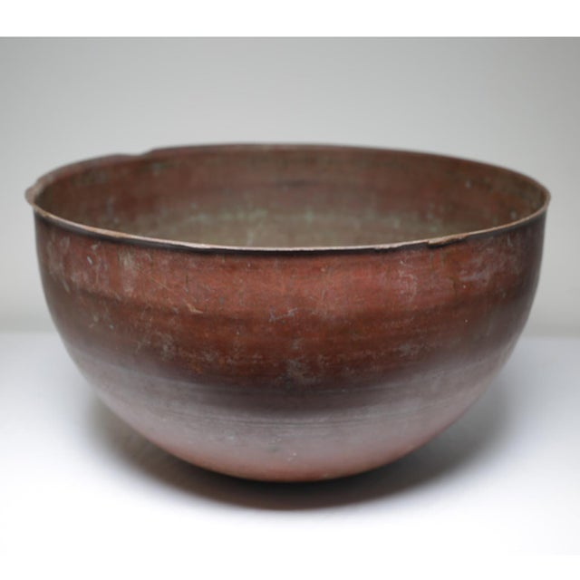 Early 20th Century Large Copper Pot, circa 1930-1950 - Image 2 of 4