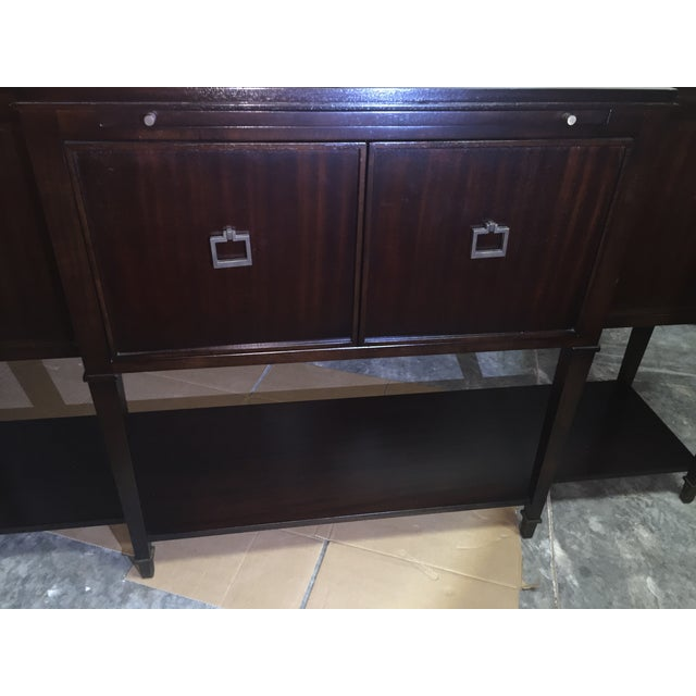 Vanguard Dark Brown Buffet - Image 5 of 5