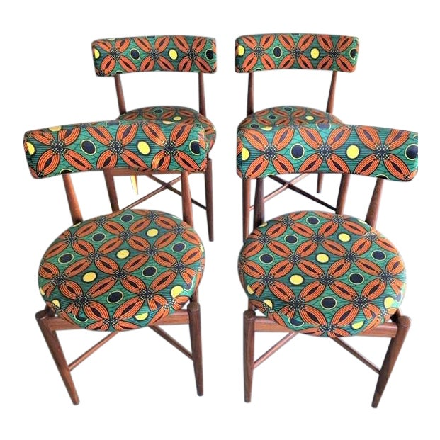 Vintage Mid Century G Plan Dining Chairs- Set of 4 For Sale