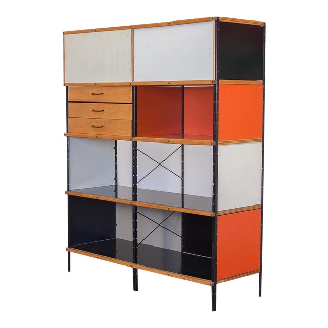 Charles & Ray Eames Esu 400 C Storage Unit for Herman Miller For Sale