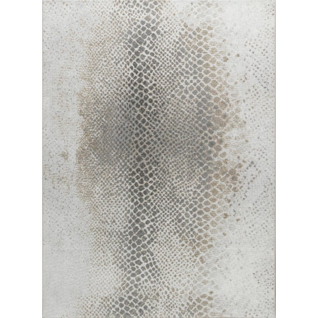 """Not Yet Made - Made To Order Stark Studio Rugs Cissy Rug in Fog , 3'11"""" x 5'10"""" For Sale - Image 5 of 5"""