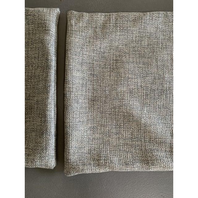 Contemporary custom woven king euro shams a pair chairish for Eminflex singolo a 79 euro